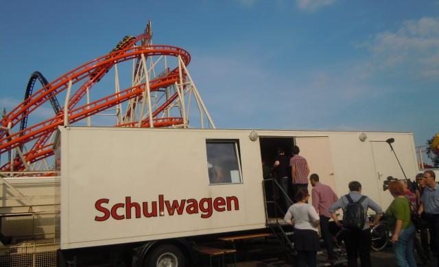 Schulwagen auf dem Hannoverschen Schützenfest